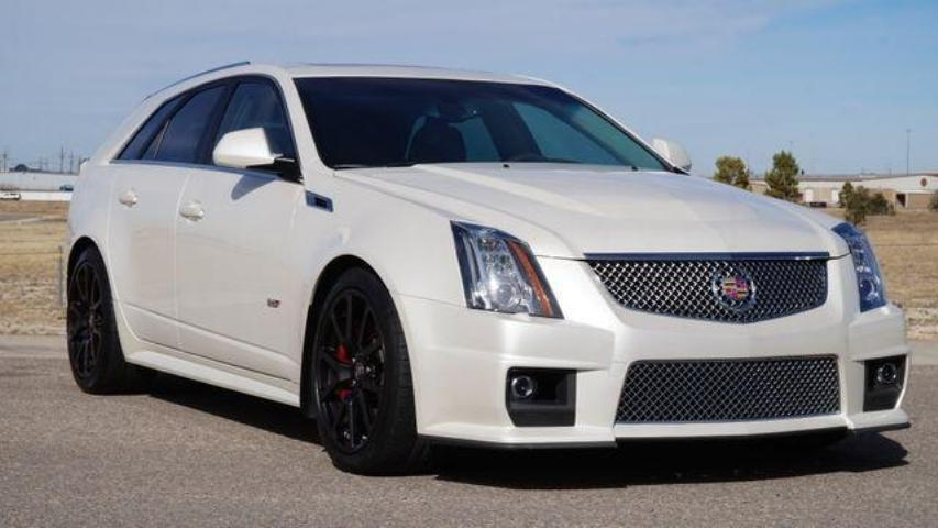 Used 2012 Cadillac Cts V Wagon Car For Sale In Dominican Republic